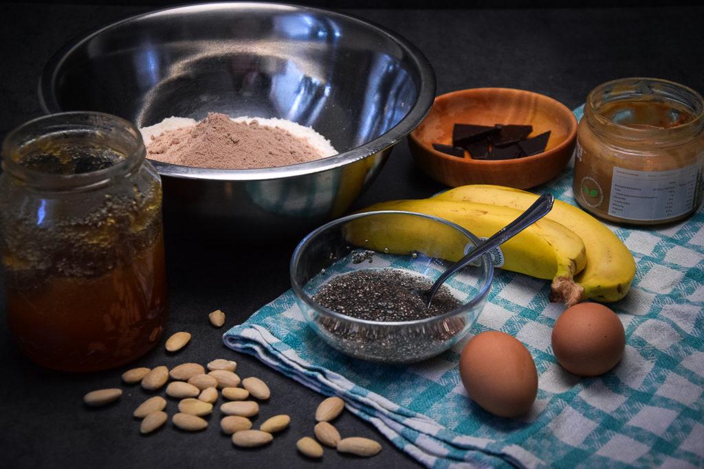 kokosový chlebíček suroviny